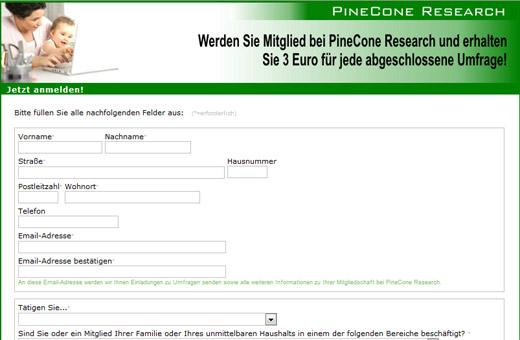 pinecone Umfragen